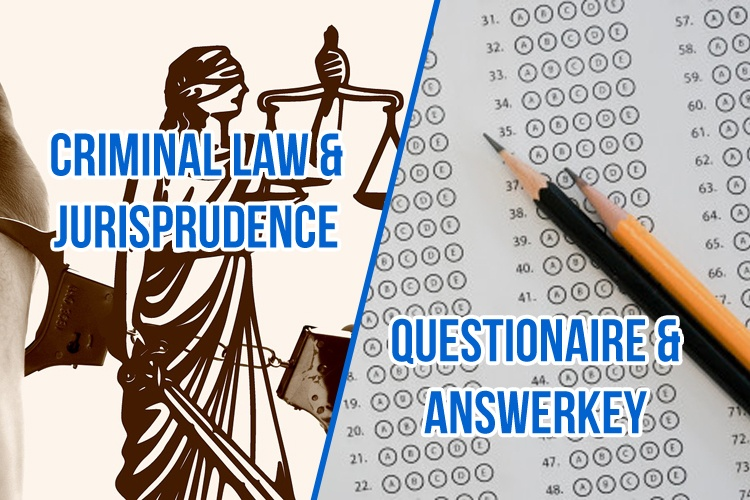 Criminal Law and Jurisprudence Q&A
