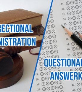 Correctional Administration – Q&A