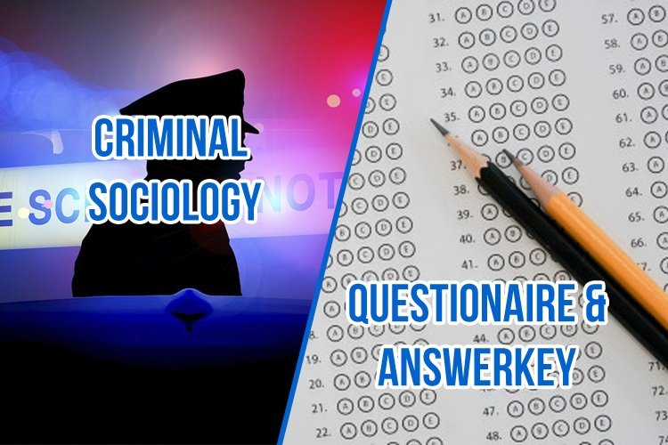 Criminal Sociology Q&A
